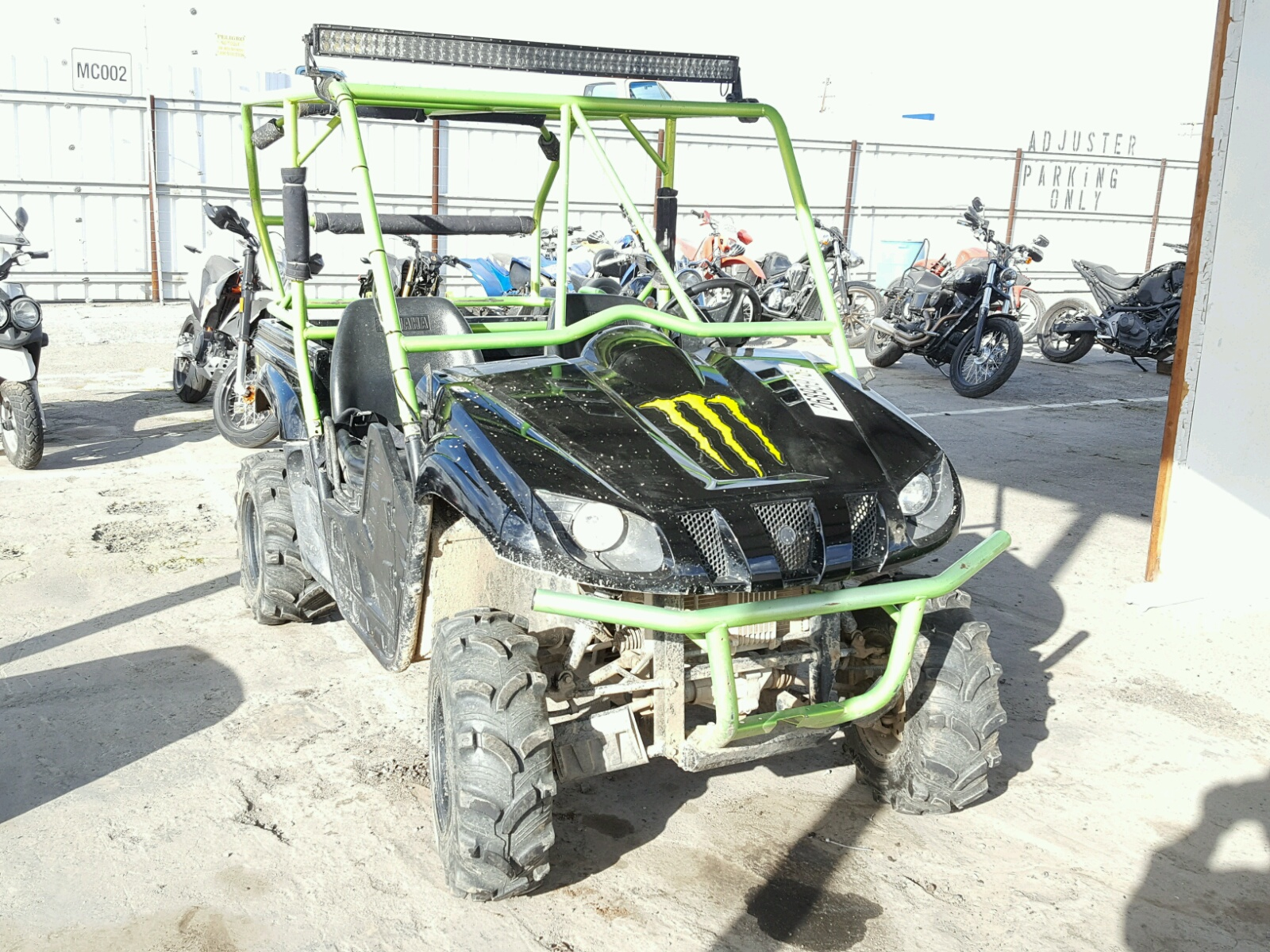 2009 yamaha yfm550fwad for sale at copart houston tx lot for Yamaha salvage yards