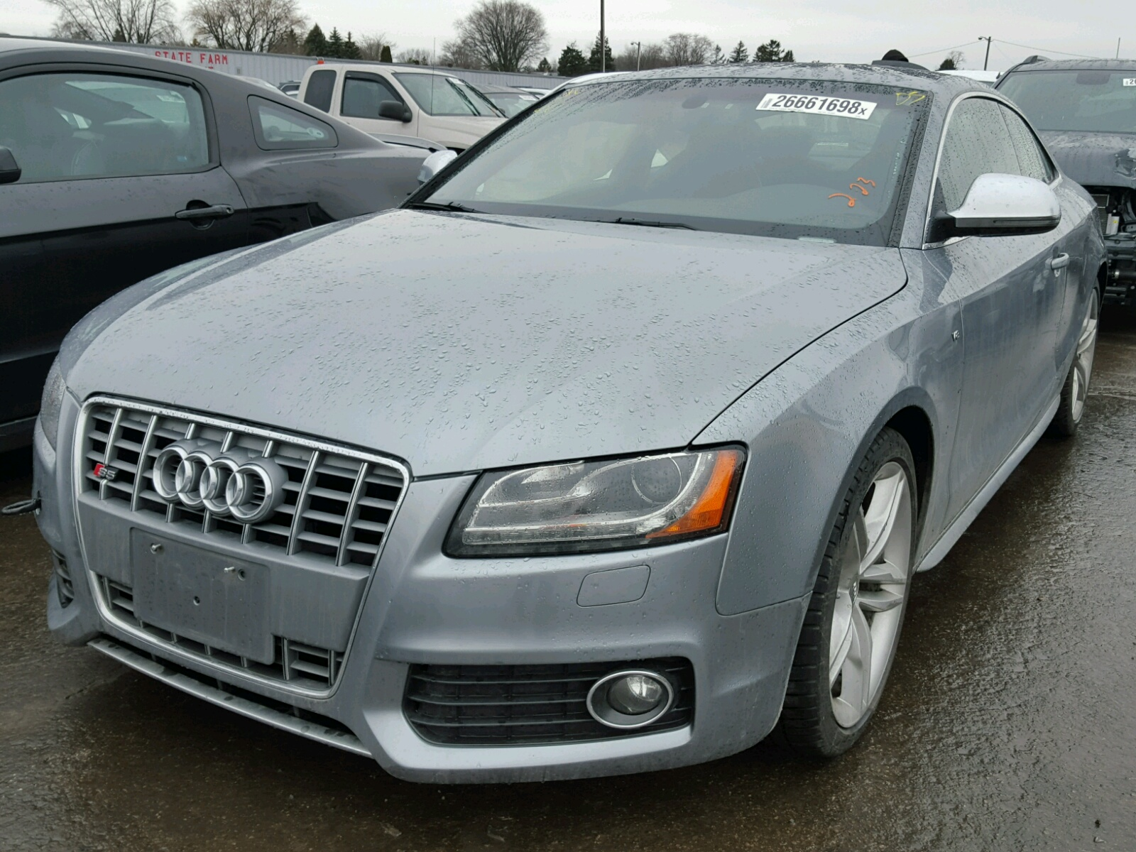 Auto Auction Ended on VIN: WAURV78T69A021164 2009 AUDI S5