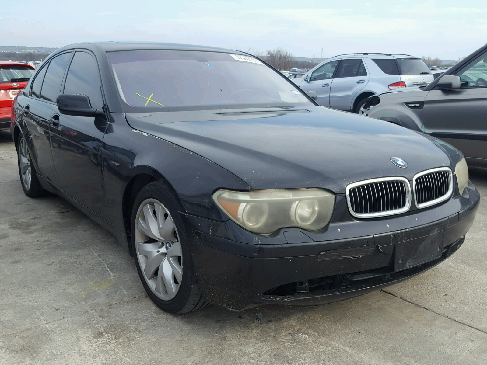 Auto Auction Ended On VIN WBAFZCCC BMW I In CA - 2012 bmw 745