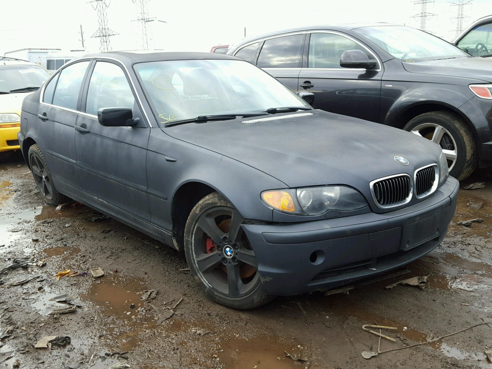Auto Auction Ended On Vin Wbabw33444pl31147 2004 Bmw