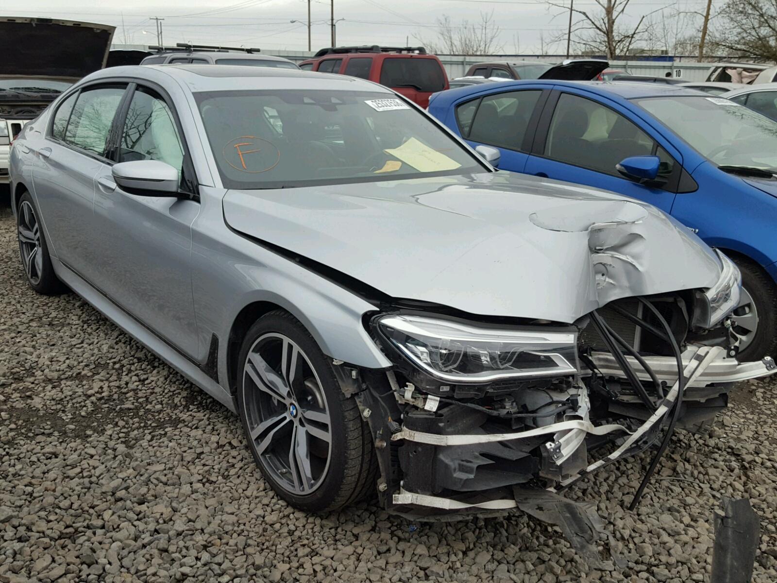 Auto Auction Ended on VIN: WBA7E2C5XGGD99858 2016 BMW 740 ...