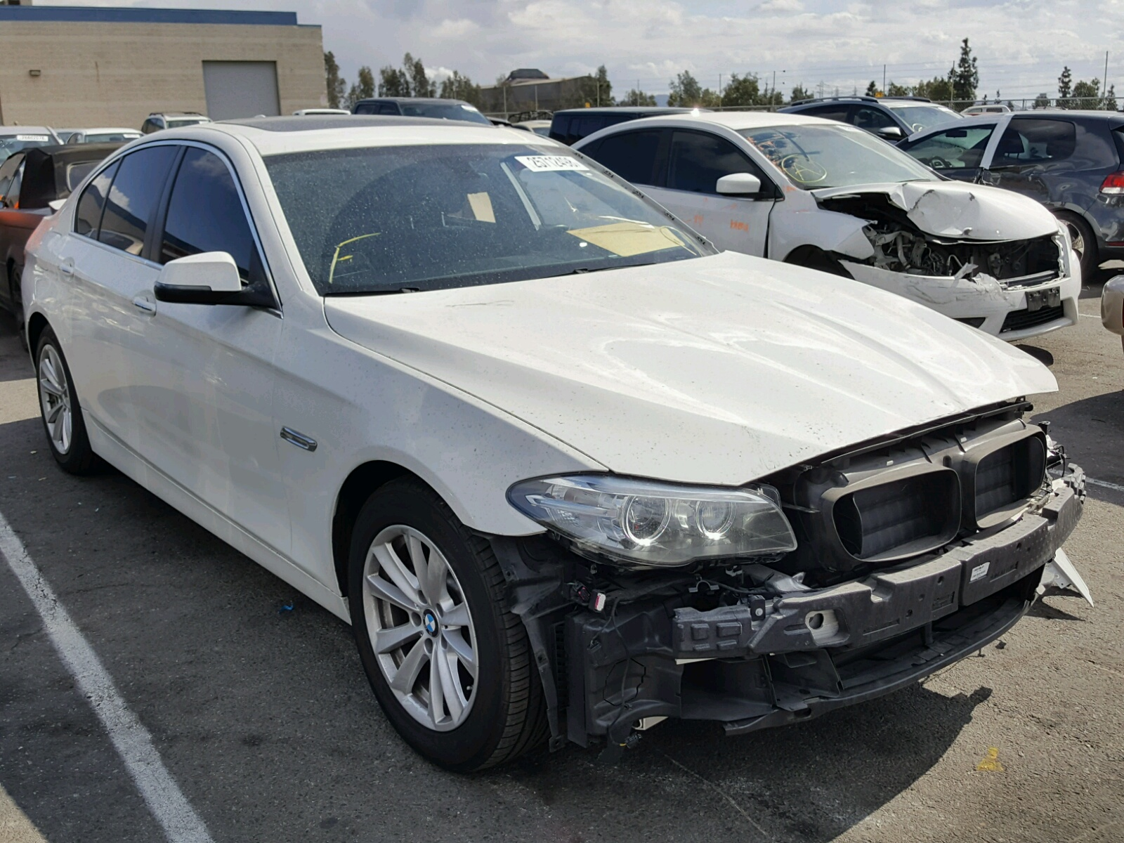 Auto Auction Ended On Vin Wba5a7c58fd624405 2015 Bmw
