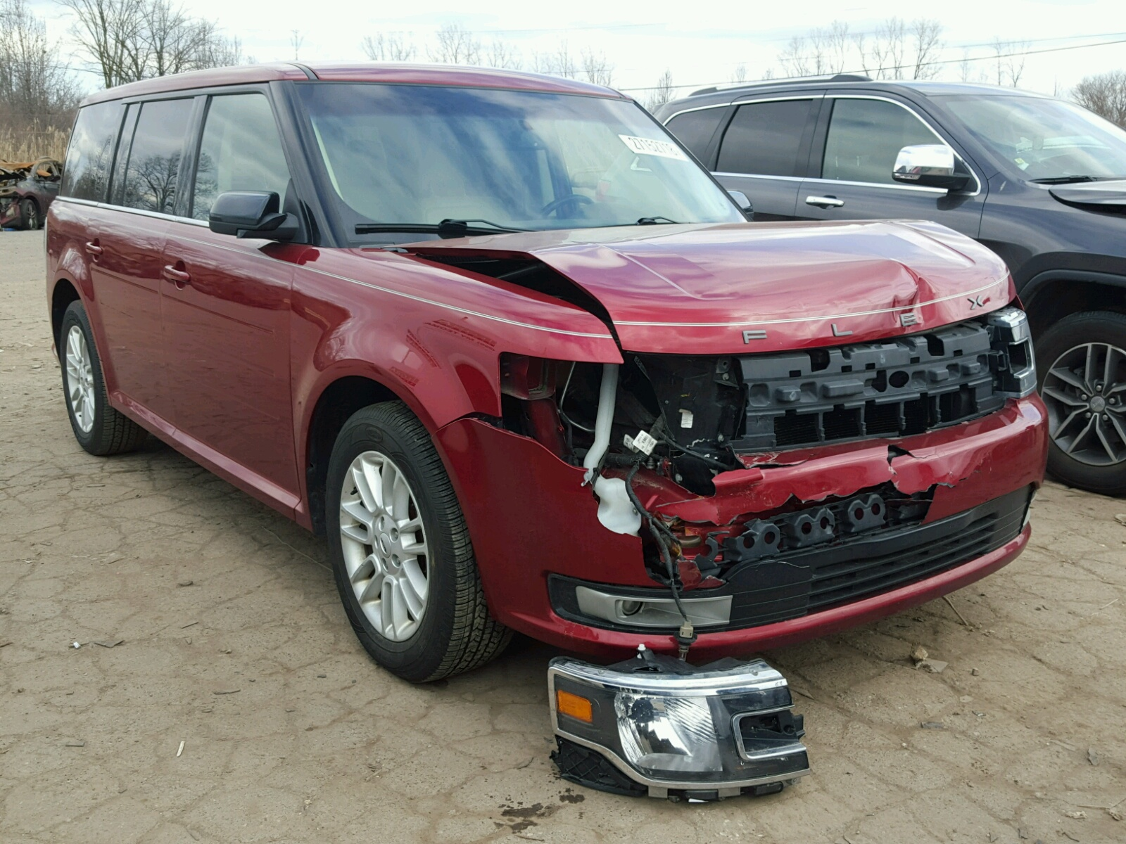 Salvage 2013 Ford FLEX SEL for sale