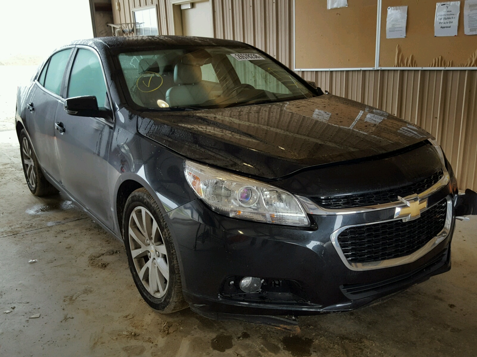 Salvage 2015 Chevrolet MALIBU 2LT for sale