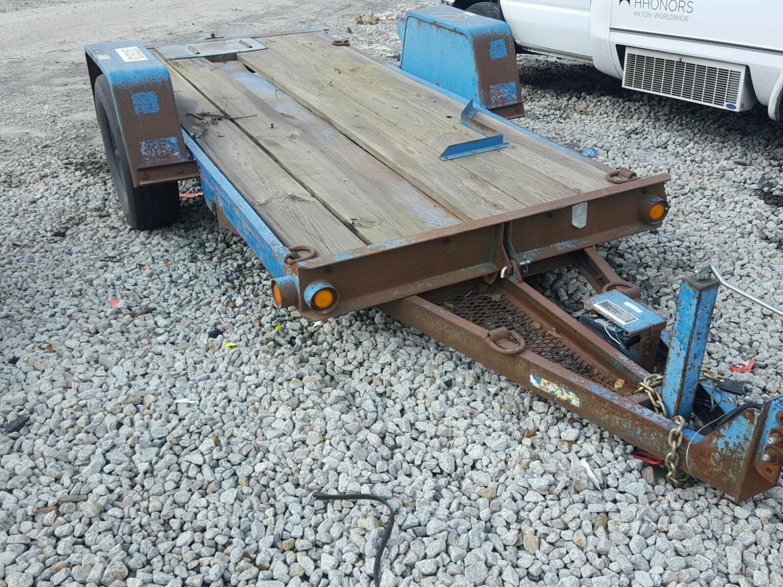 1DS0000J9X17S1023 | 1999 BLUE DIWI TRAILER on Sale in GA - ATLANTA ...