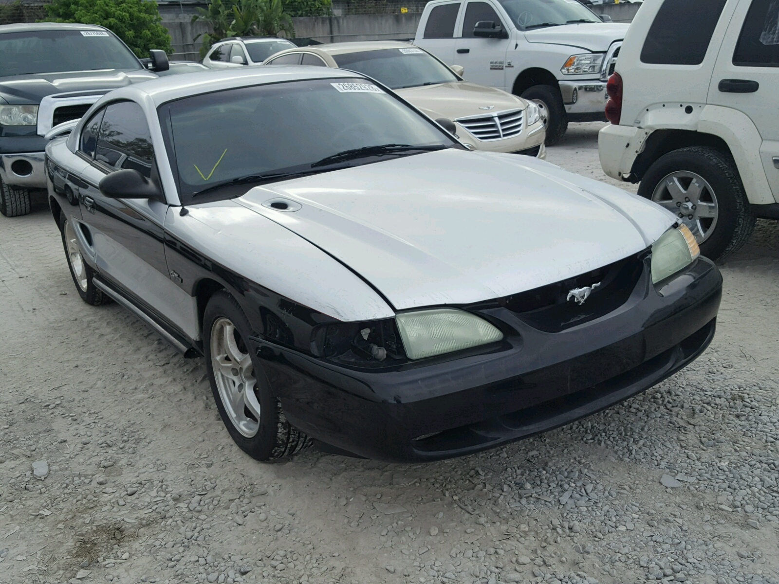 1998 ford mustang gt for sale at copart miami fl lot 26852928. Black Bedroom Furniture Sets. Home Design Ideas