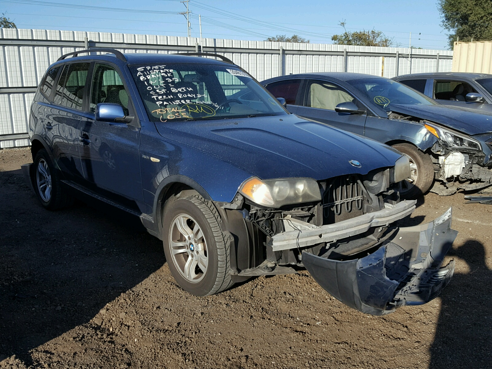 Auto Auction Ended on VIN: WBXPA93484WA62706 2004 BMW X3 3.0I in CA ...