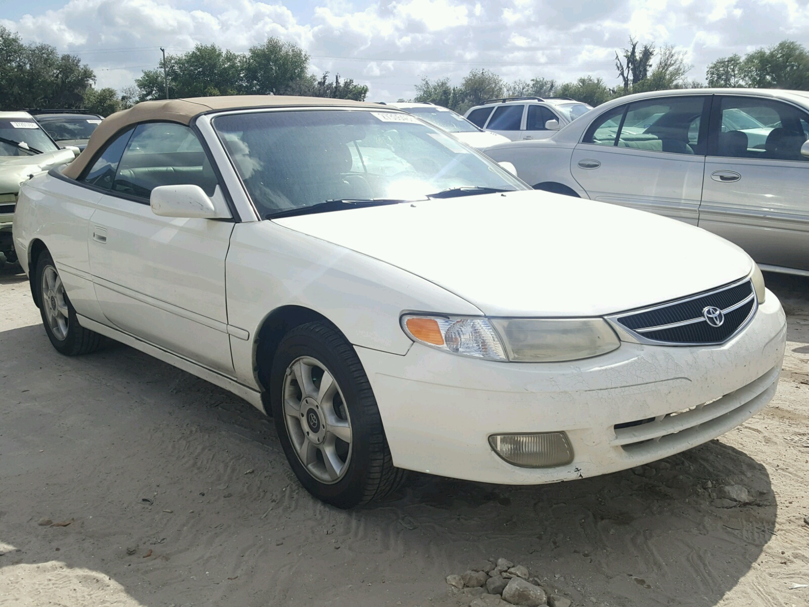 2001 TOYOTA CAMRY SOLA 3.0L