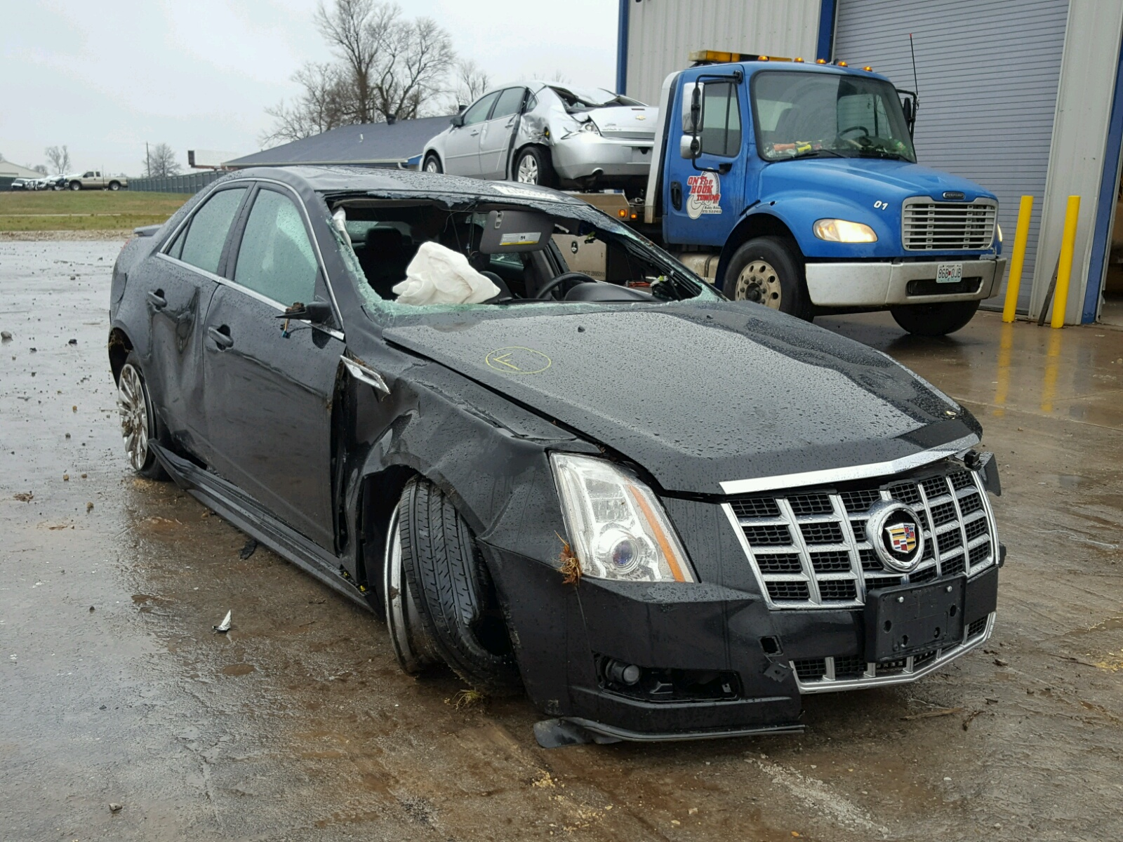 for carfinder en left cts cadillac certificate view lot north pittsburgh copart salvage pa on red in auctions luxury online of sale auto