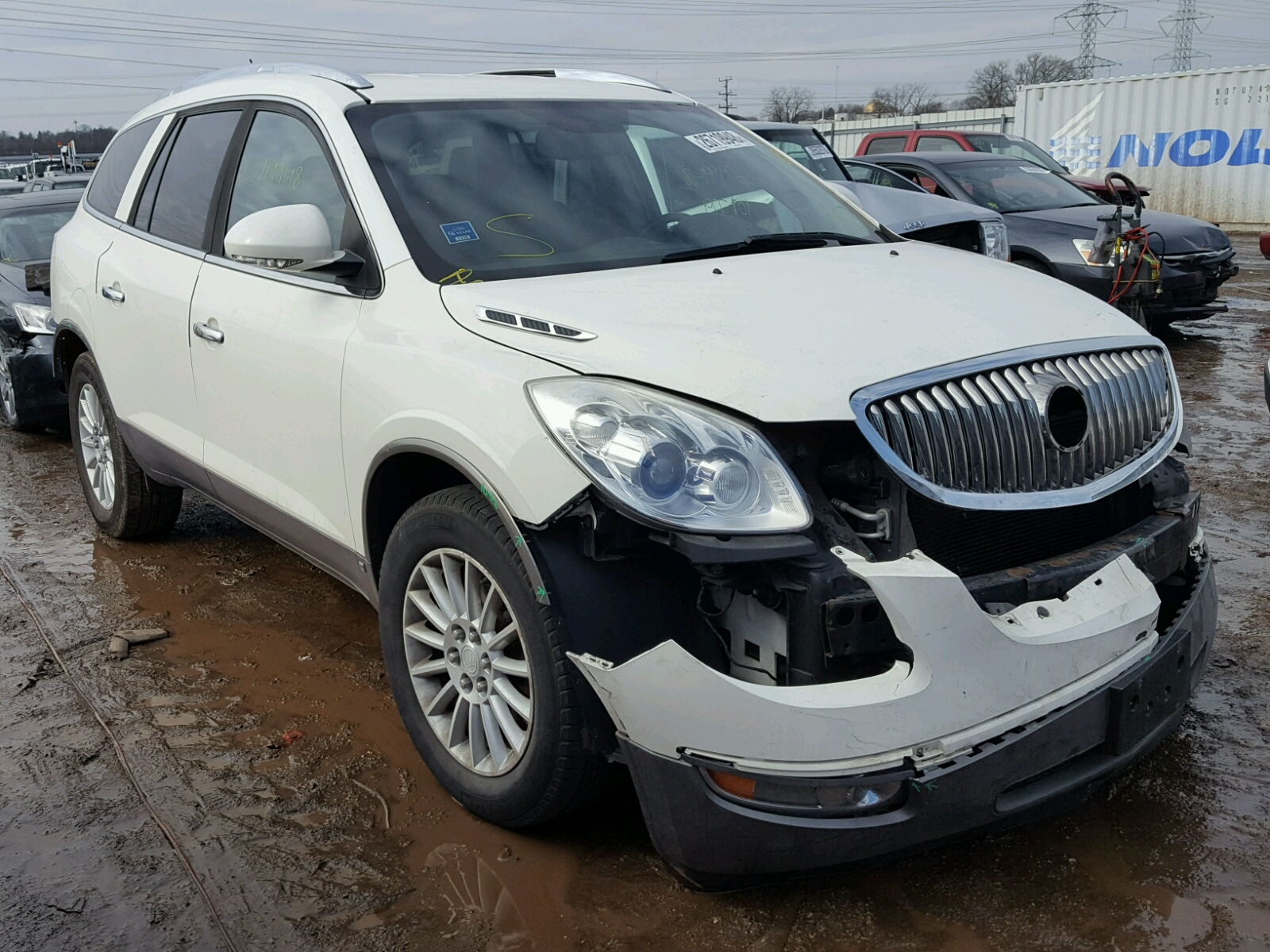 5galvbed4aj163317 2010 white buick enclave cx on sale in il 5galvbed4aj163317 2010 buick enclave cx 36l left view publicscrutiny Images