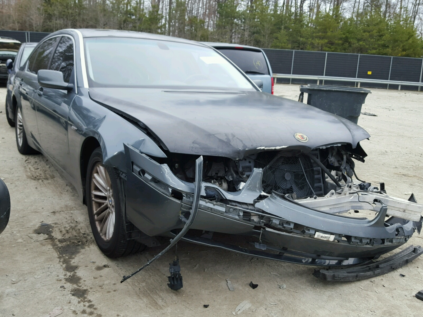 Salvaged BMW SERIES For Auction AutoBidMaster - 2009 bmw 745