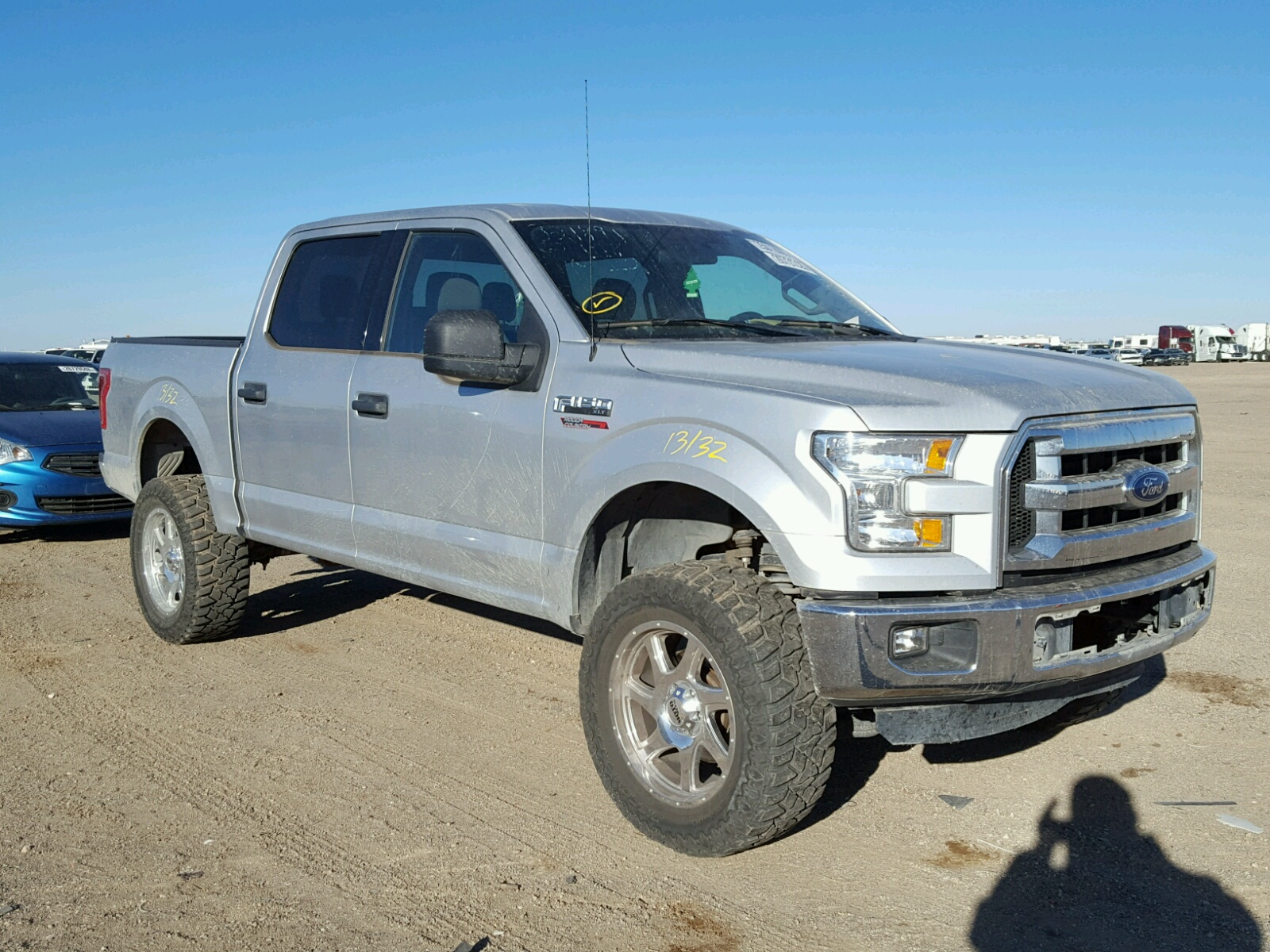 2015 Ford F150 Super for sale at Copart Amarillo TX Lot
