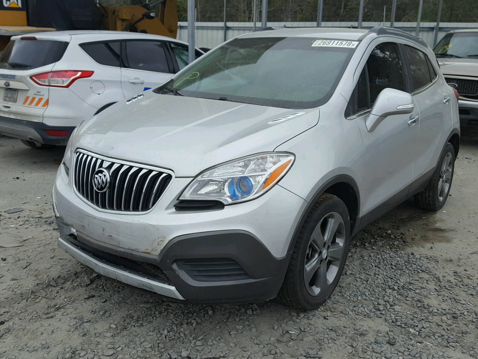 online gray on copart view auto salvage for sale left of in cert ky en walton auctions title lot carfinder buick encore