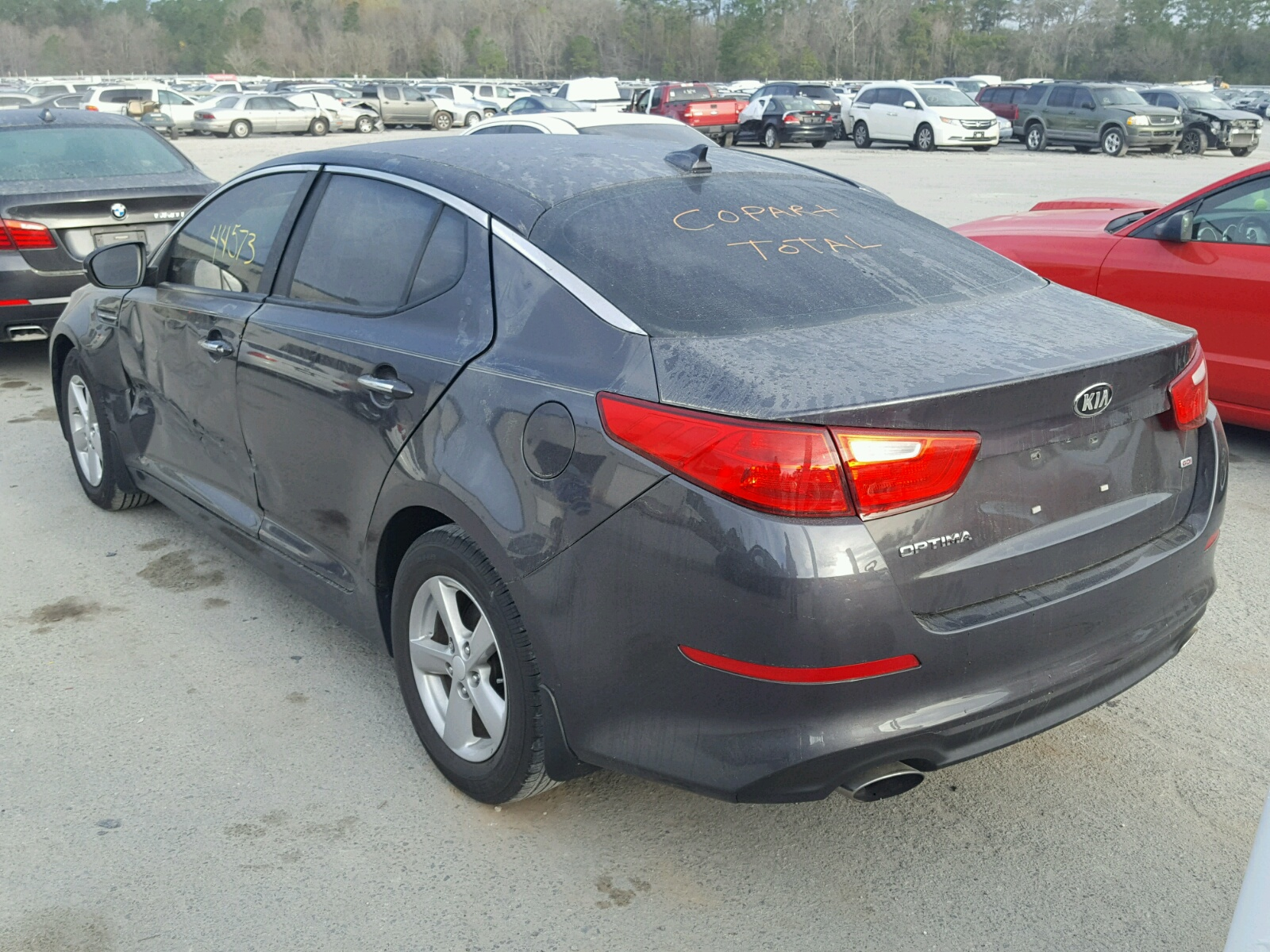 kia optima lx app front damage end sold