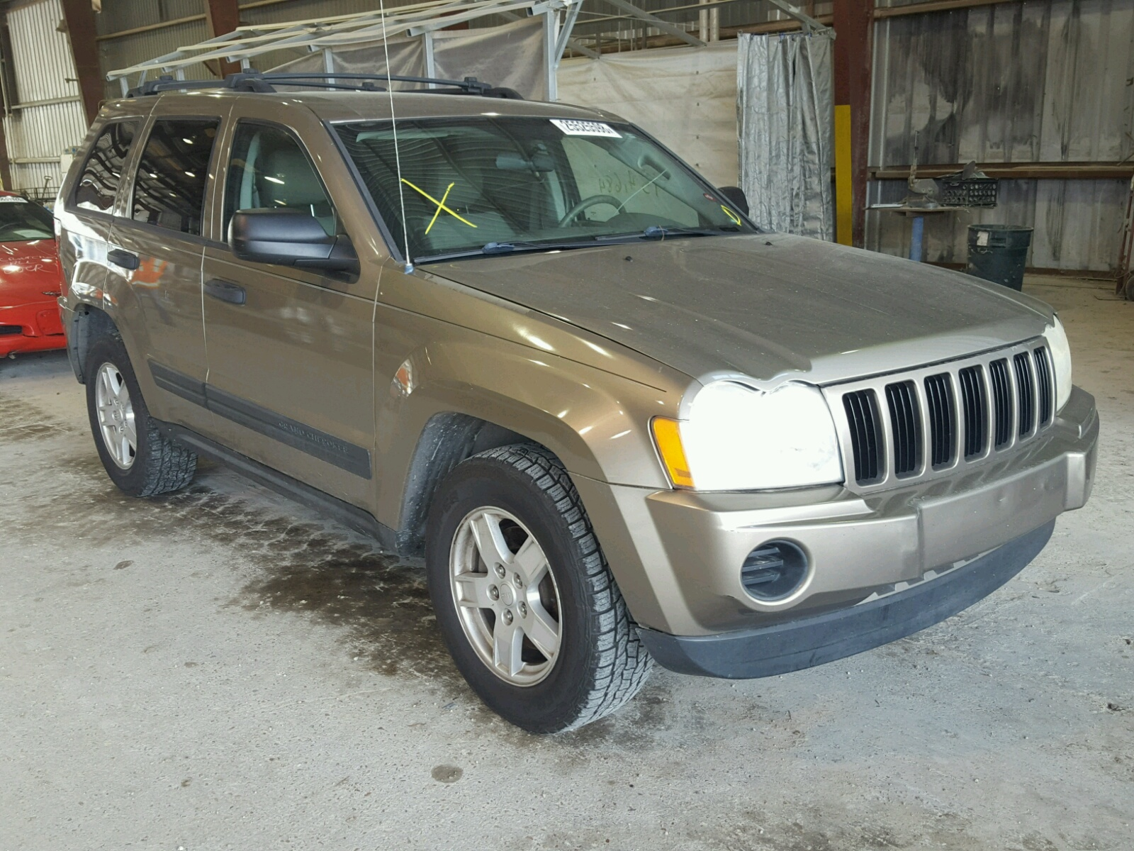 baton rouge gray sale view on cert jeep title la of online copart salvage en commander left lot auto auctions in carfinder