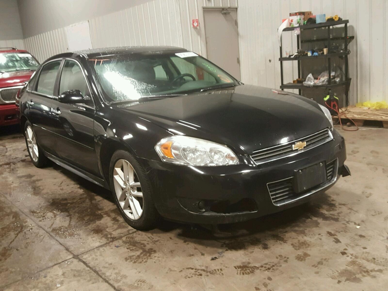 Auto Auction Ended on VIN 2G1WB5EN7A 2010 CHEVROLET IMPALA