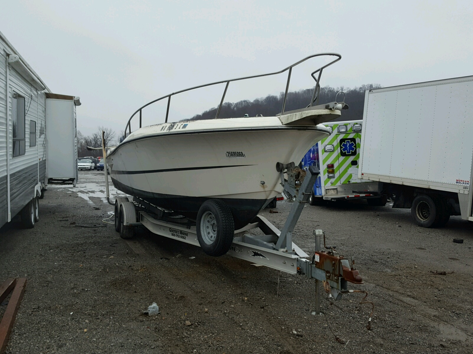 Salvage 1992 Hydra-Sports BOAT for sale