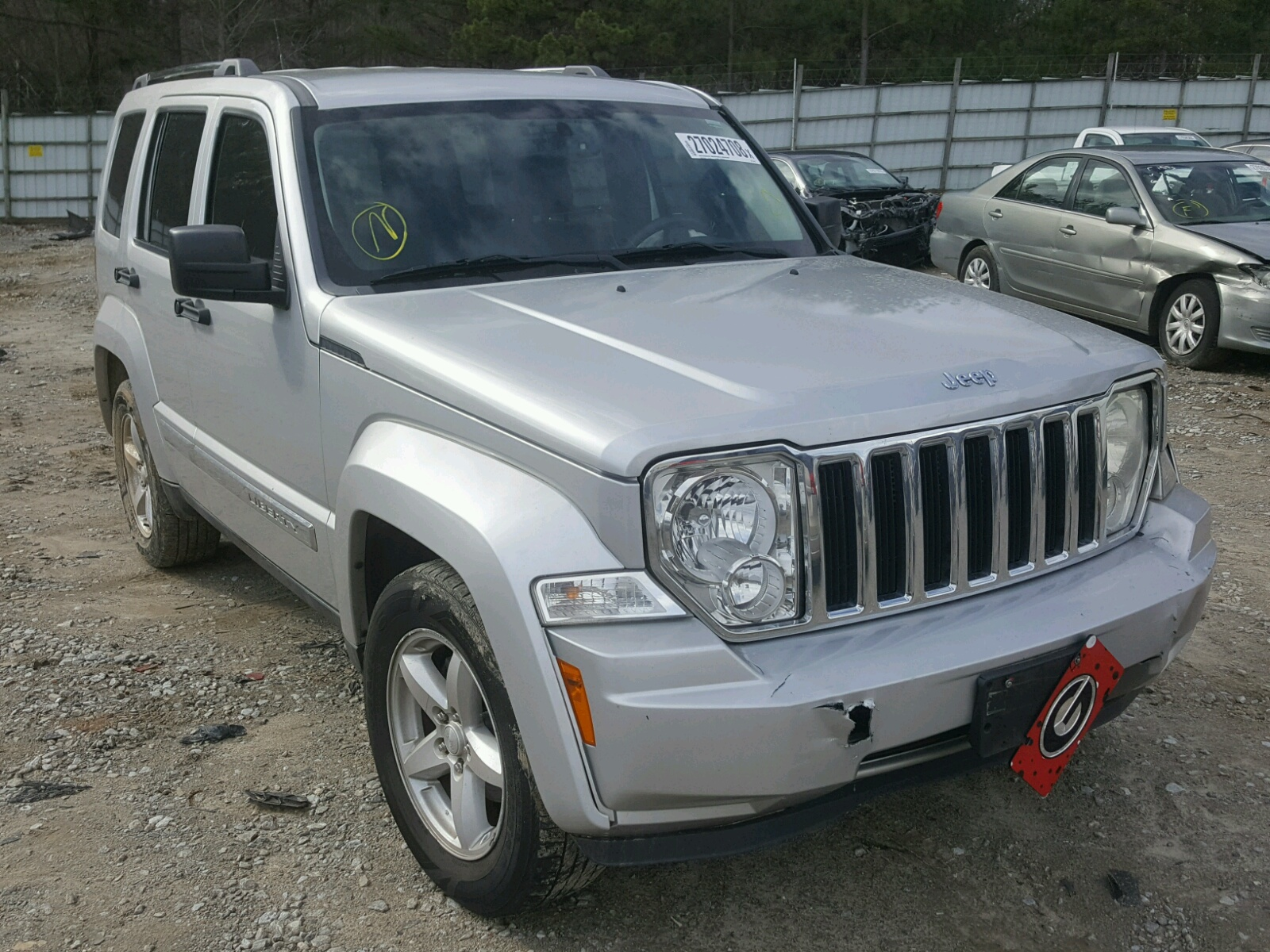 Auto Auction Ended on VIN 1J4PP5GK2BW 2011 JEEP LIBERTY LI in