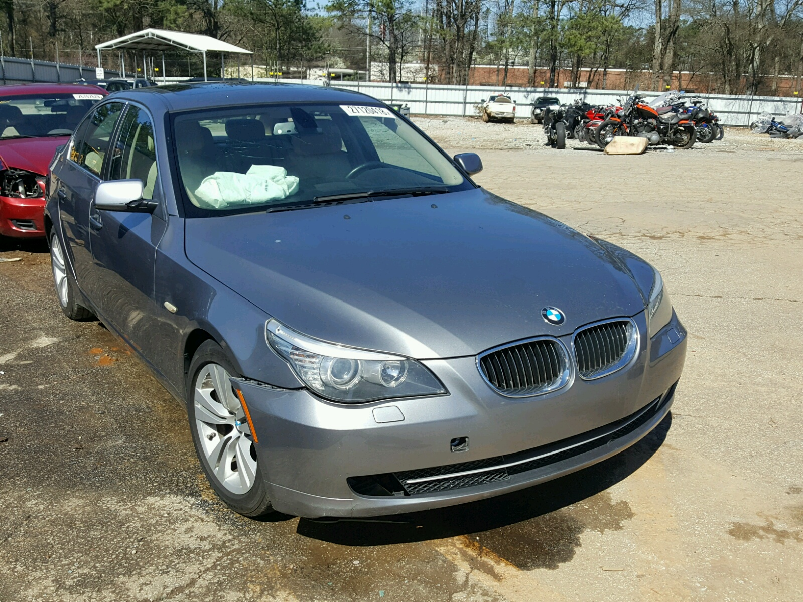 Auto Auction Ended On VIN WBANU5C59AC128944 2010 Bmw 528 I In GA