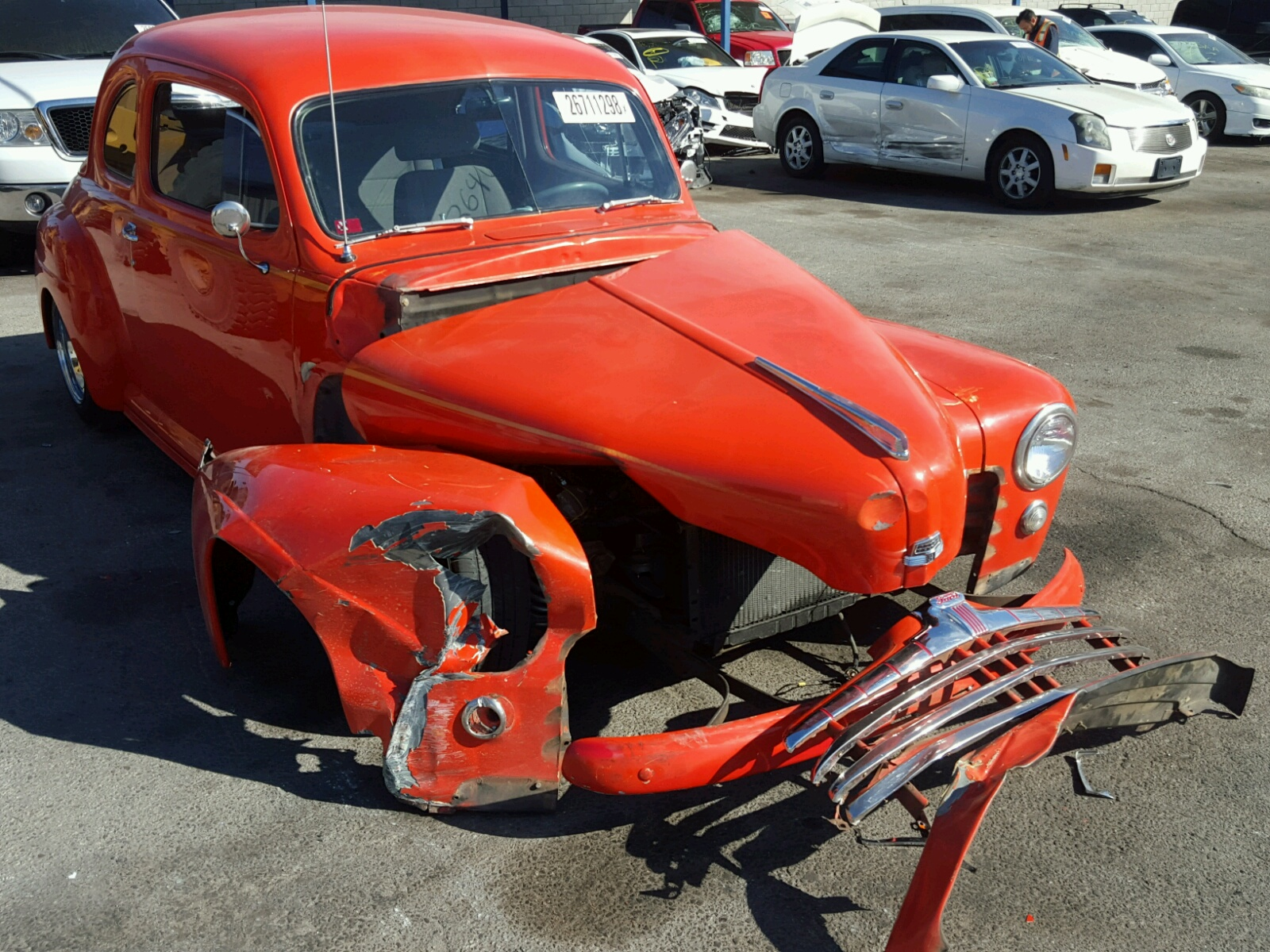 Copart Home Page >> Auto Auction Ended on VIN: 99A1253076 1946 FORD COUPE in ...