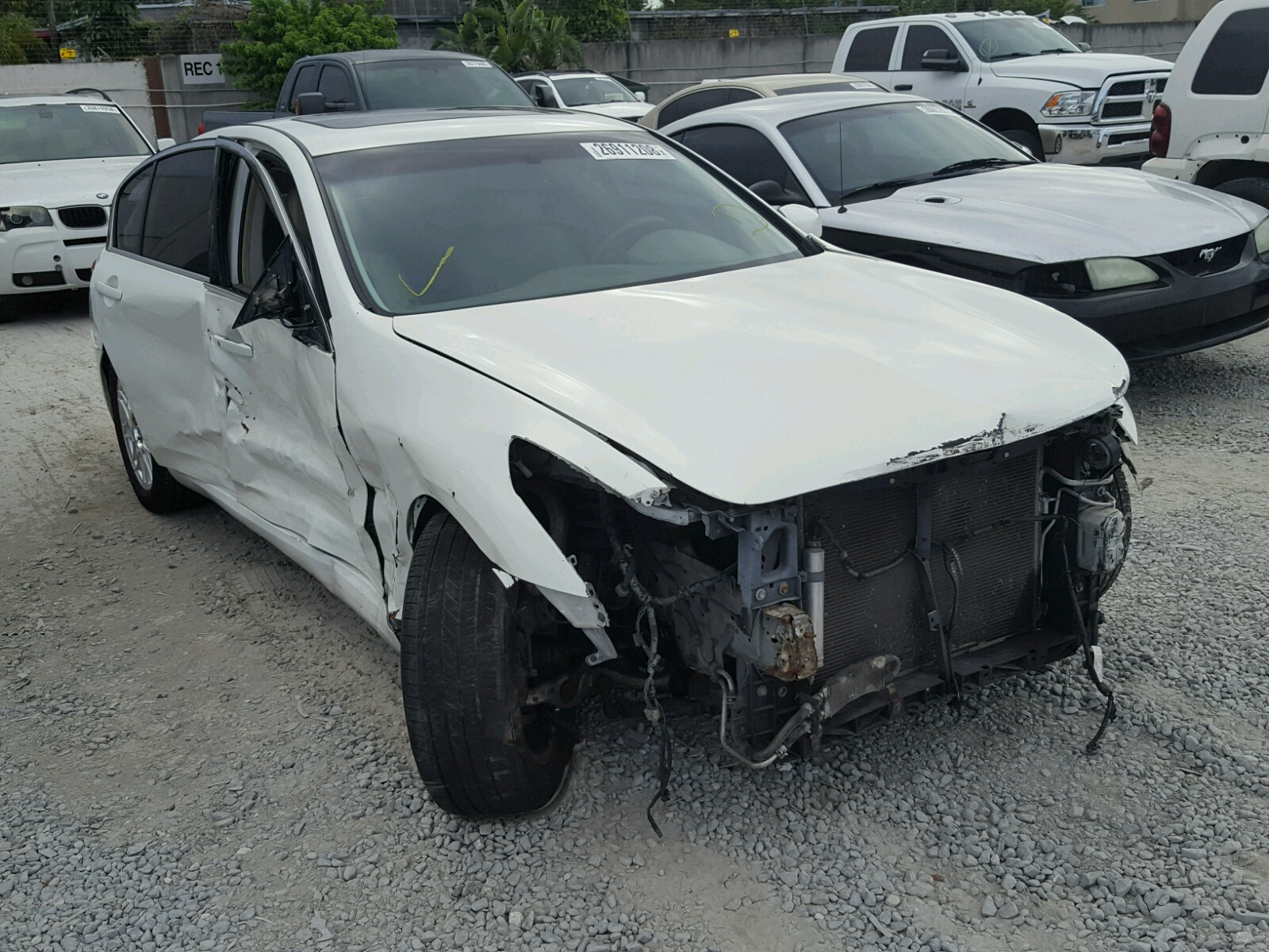 Auto Auction Ended on VIN: JN1BY1AR5CM392865 2012 INFINITI ...