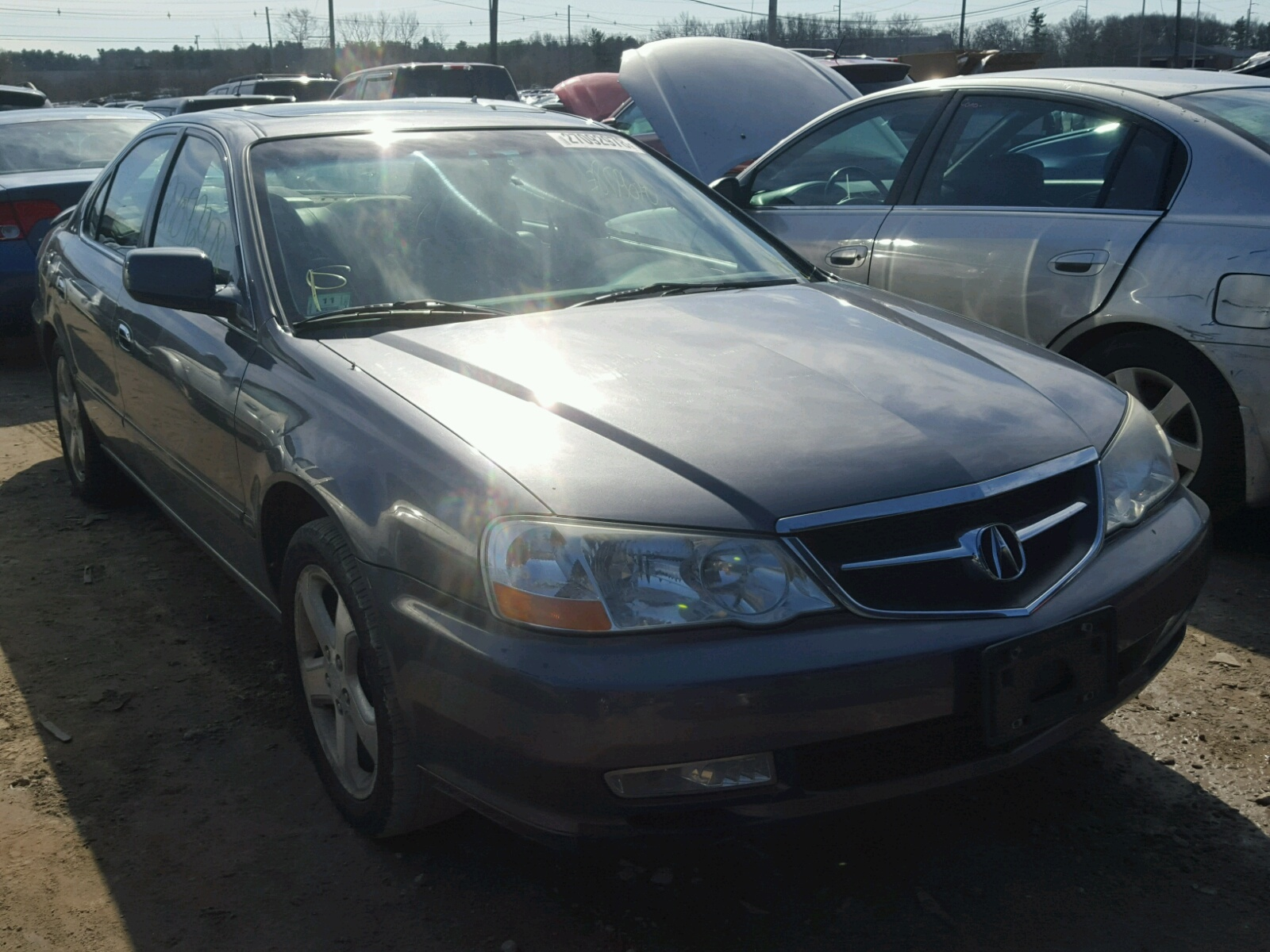UUAA GRAY ACURA TL TYPE On Sale In MA NORTH - 2003 acura tl for sale