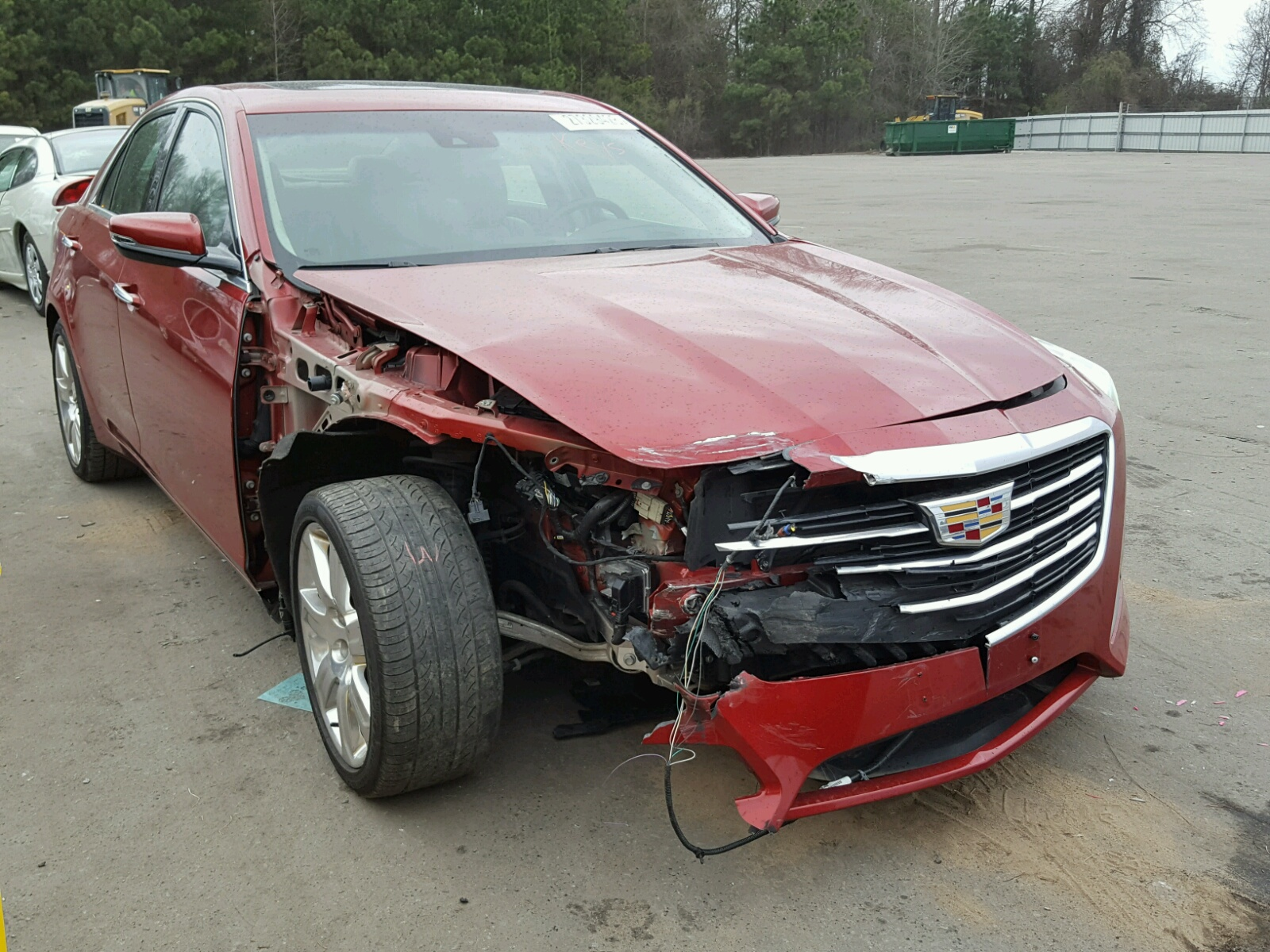 Auto Auction Ended on VIN: 1G6AR5SX5G0195348 2016 CADILLAC CTS LUXURY in NC  - RALEIGH