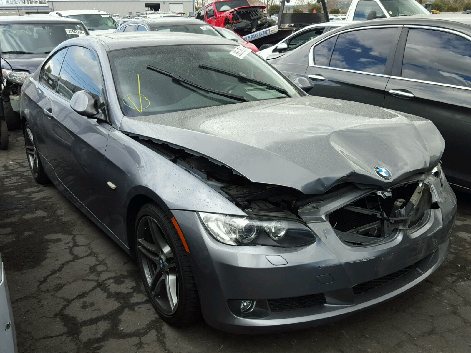 Auto Auction Ended On Vin Wbaph73549a173161 2009 Bmw 328 In On Toronto