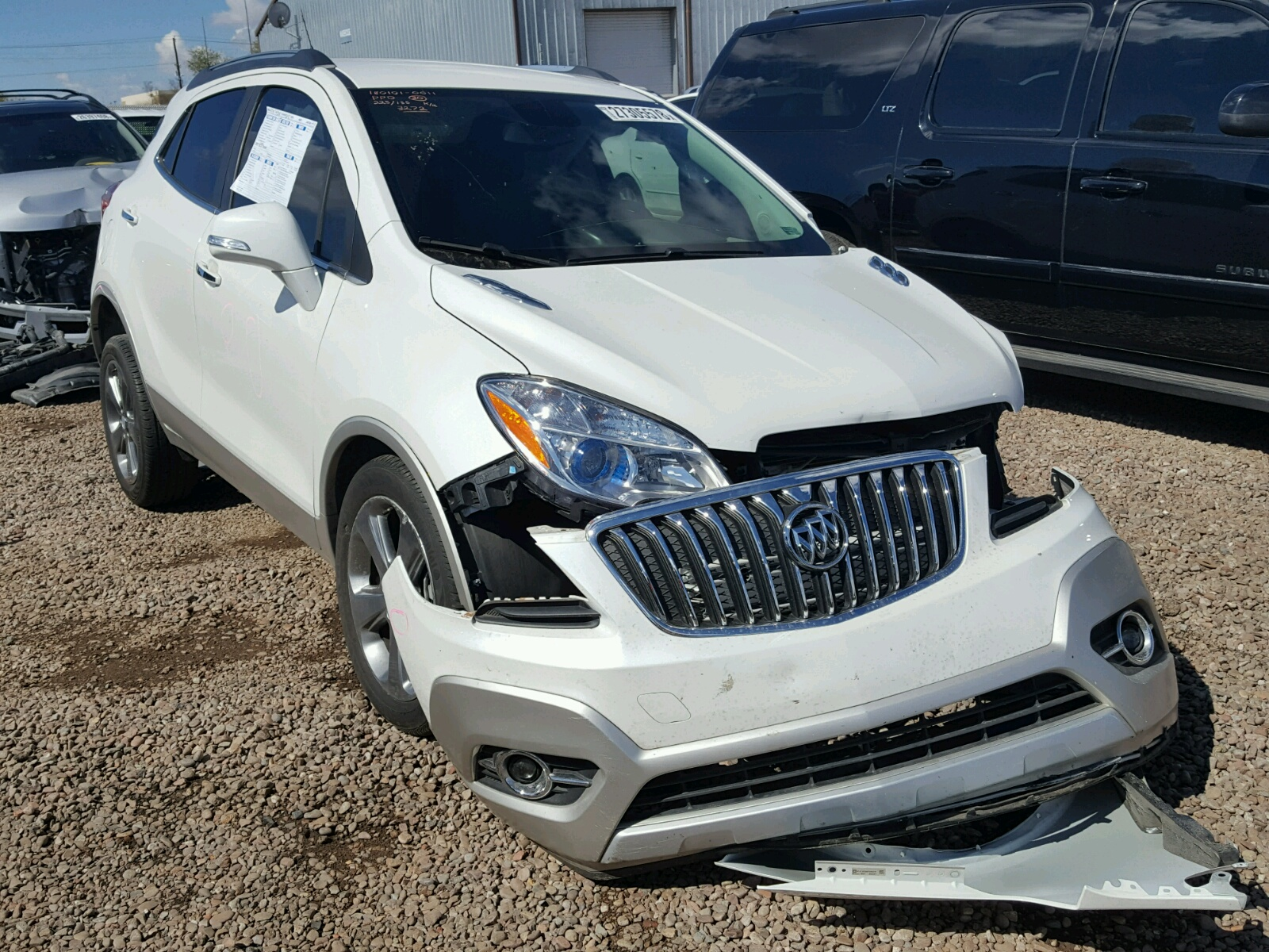 east online ga salvage auctions white carfinder buick in copart en view on title encore sale of cert atlanta auto for left lot