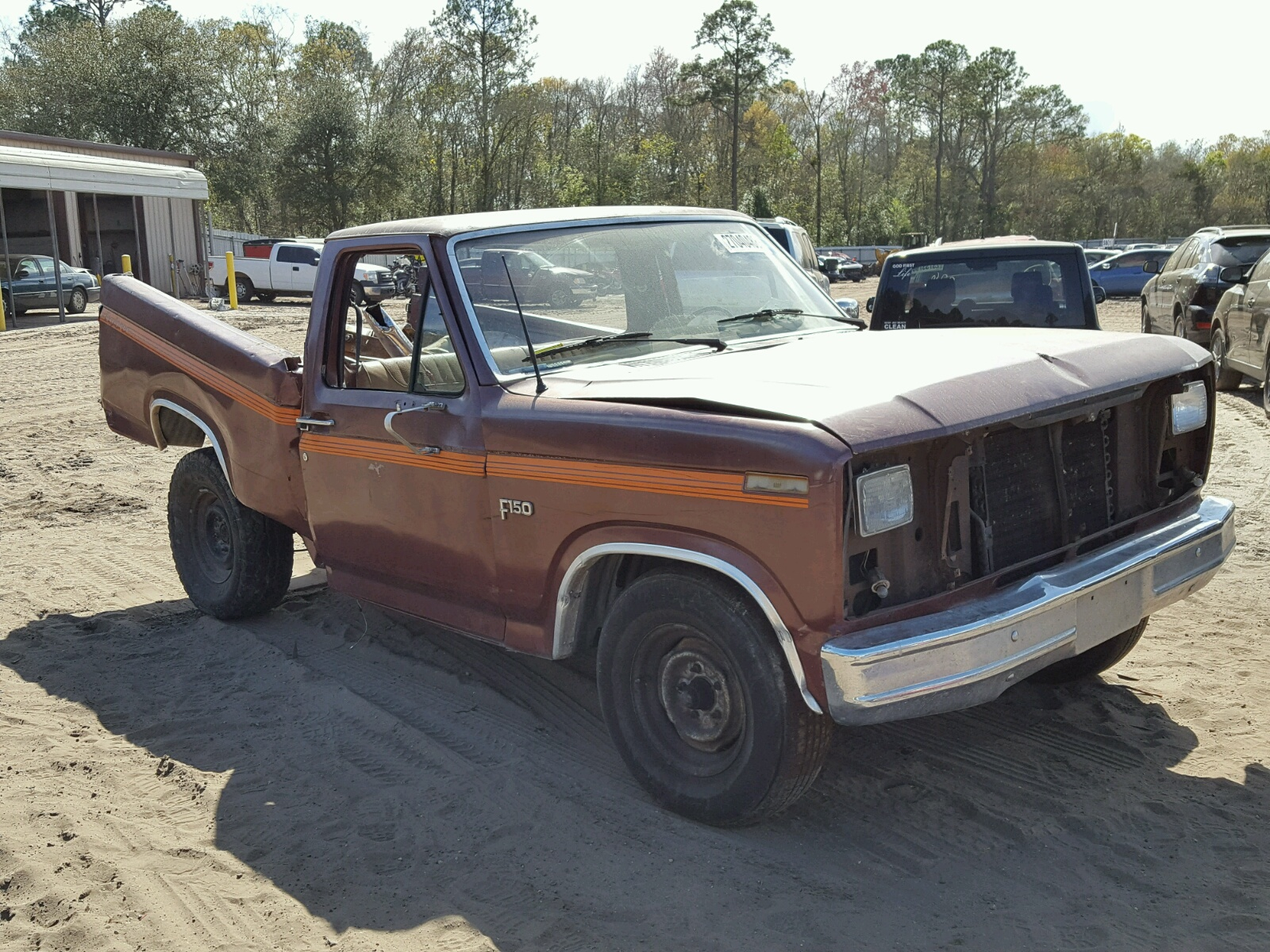 1984 FORD F150 5.0L