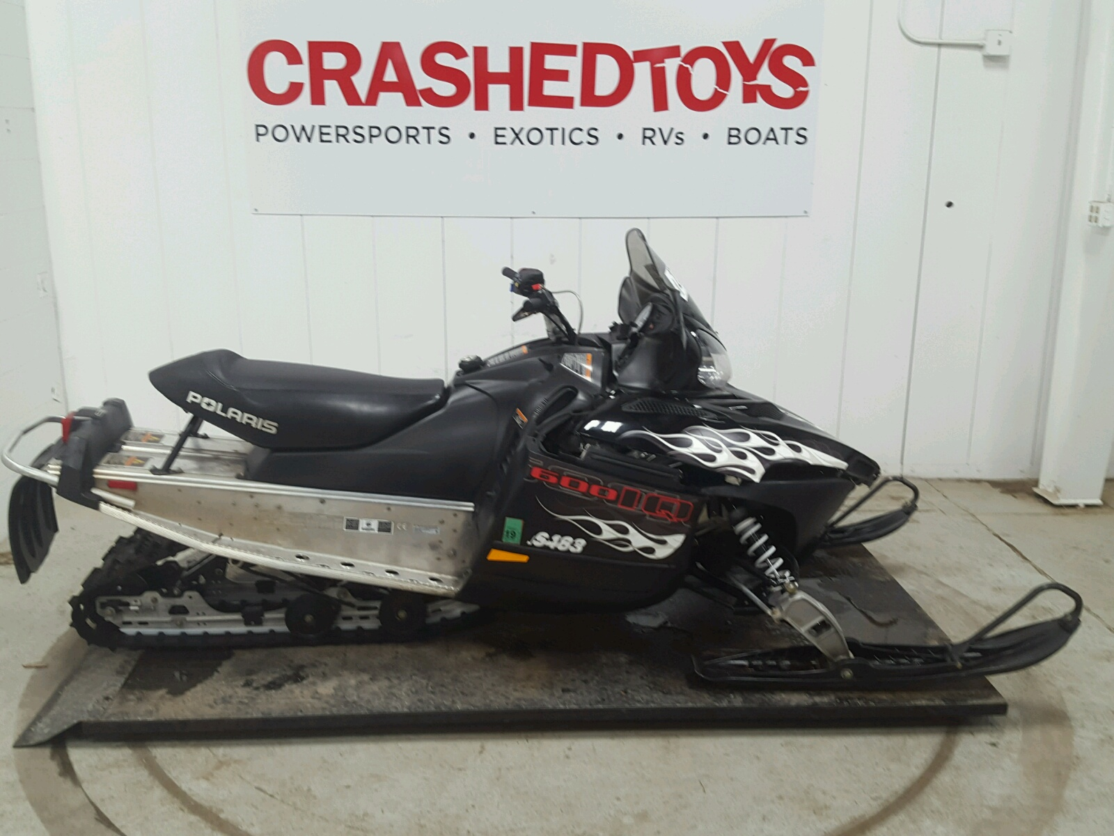 Salvage 2009 Polaris 600 IQ SHI for sale