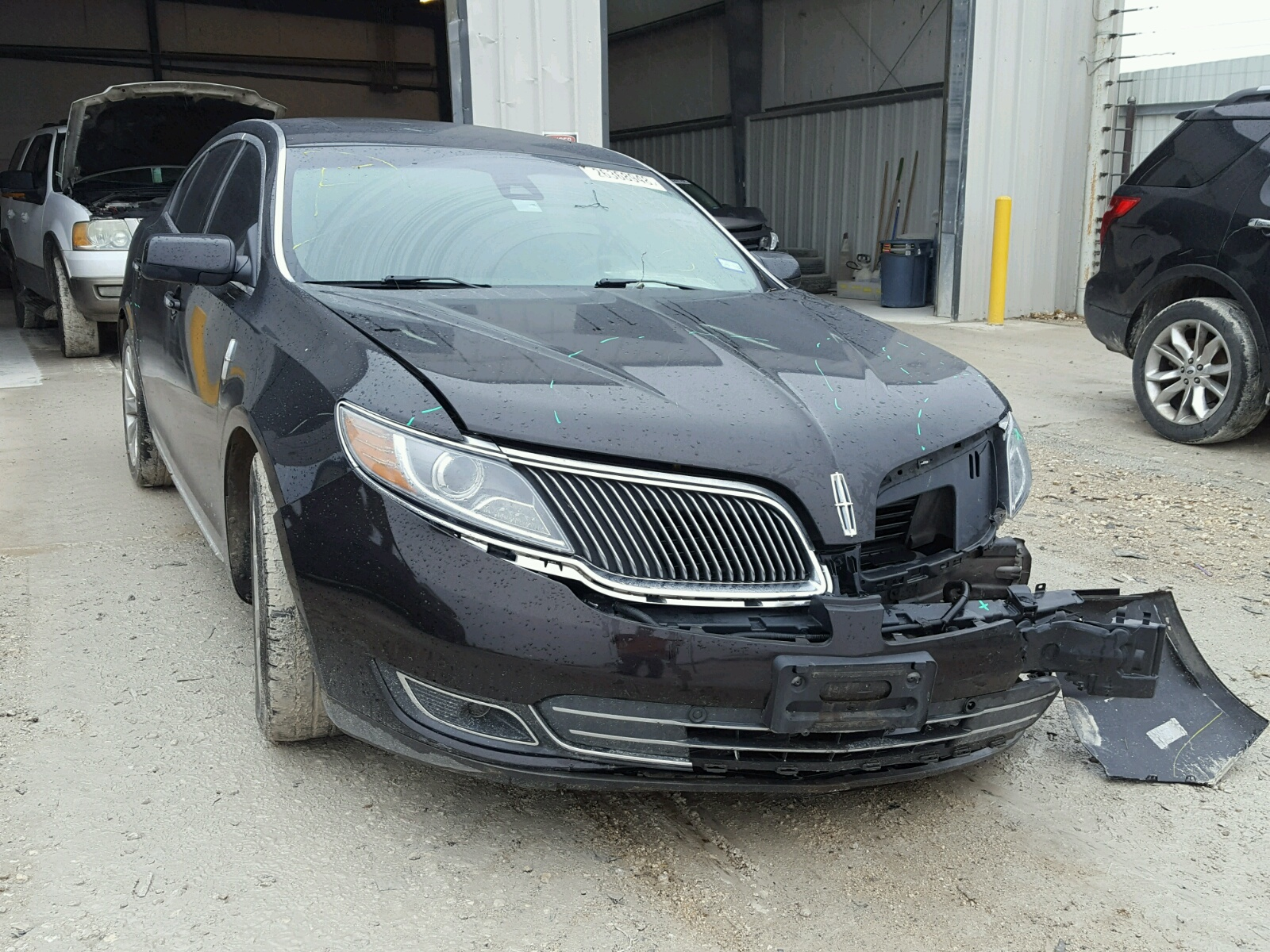 il cars chicago sale lincoln mks at heights copart for lot