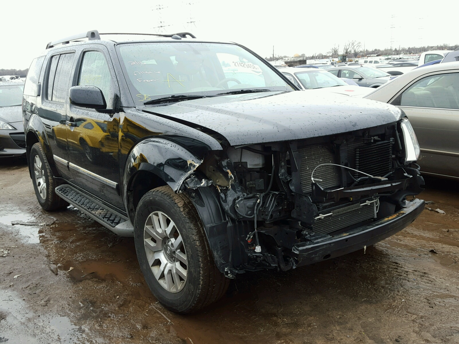 2012 Nissan Pathfinder For Sale At Copart Elgin Il Lot