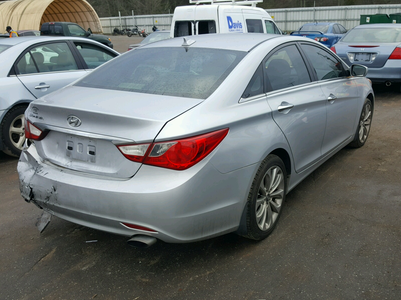 hyundai sale lot auto greer online certificate gl title in en copart sc on carfinder elantra silver auctions of