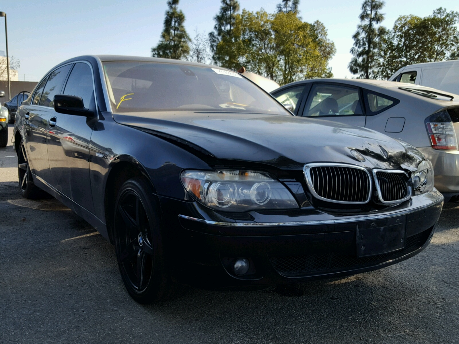 Auto Auction Ended On VIN WBSBRPK BMW M In OK TULSA - 2002 bmw 750