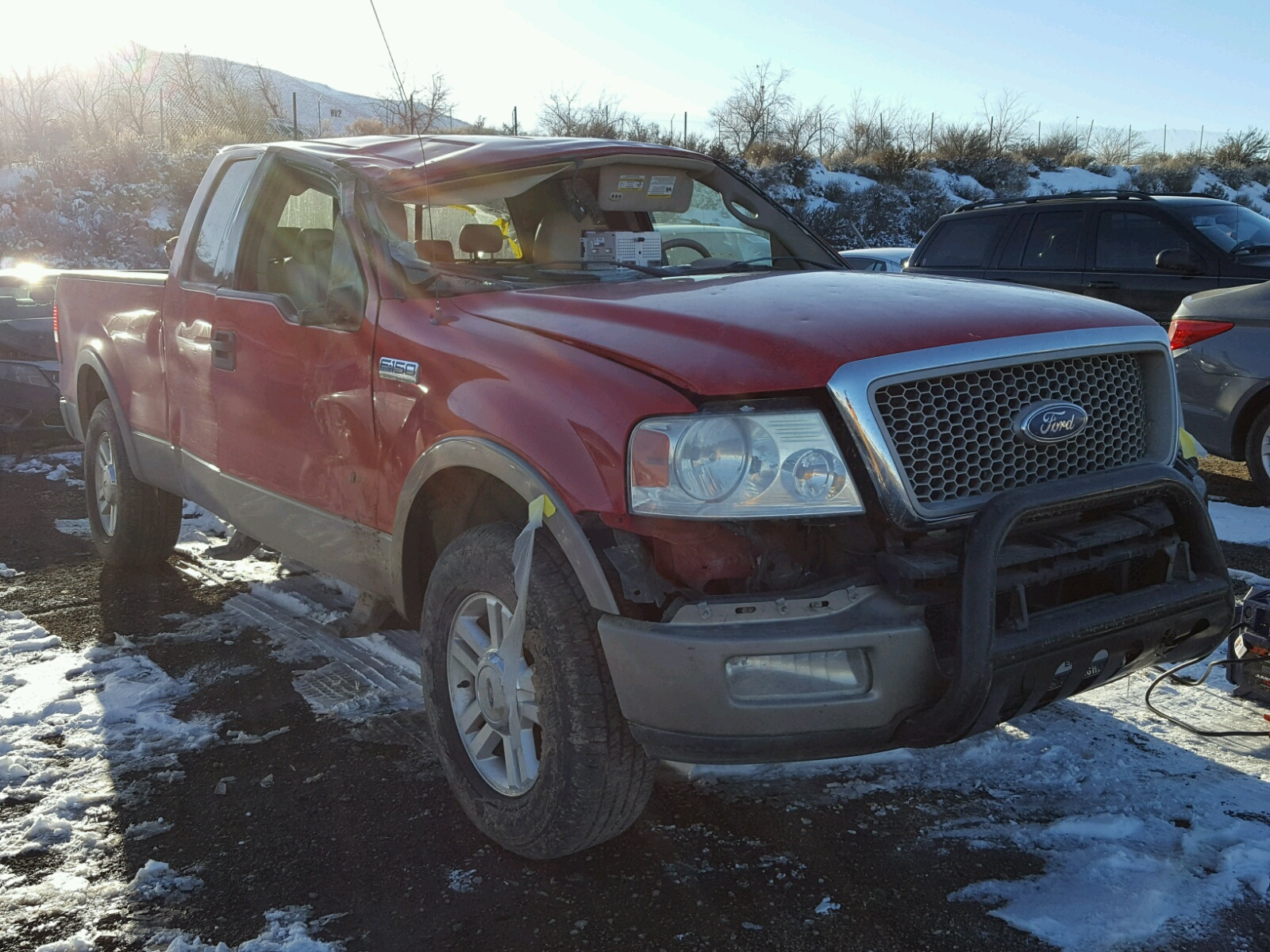1FTPX NB 2004 RED FORD F150 on Sale in NV RENO