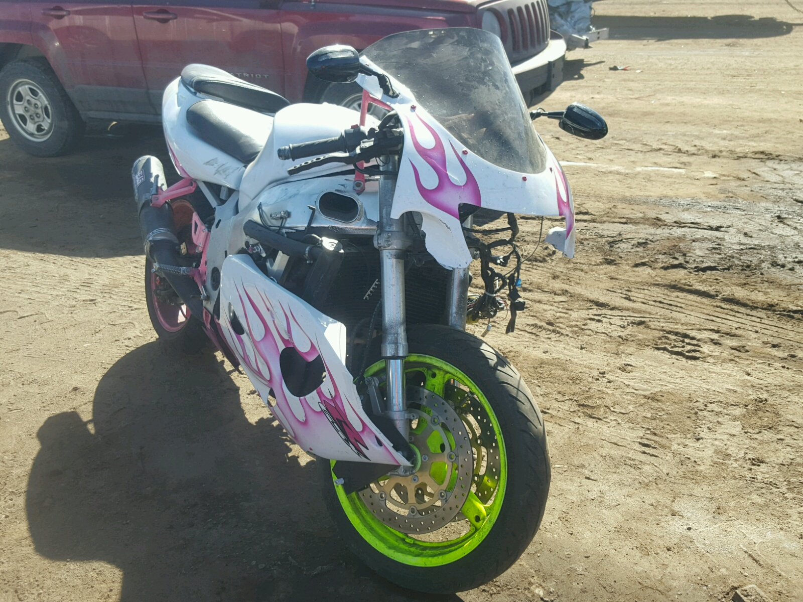 Salvaged Motorcycles for Auction - AutoBidMaster