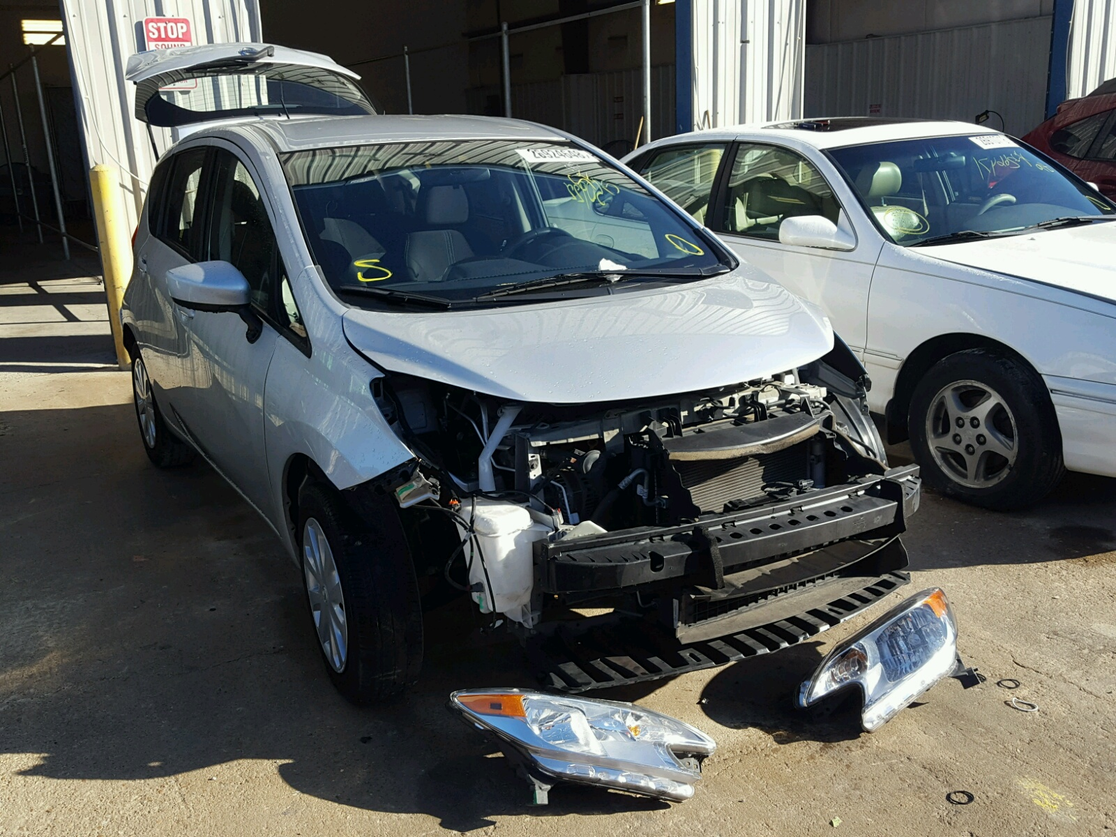used nissan northampton premium petrol xc manual note car l blade acenta silver hatchback