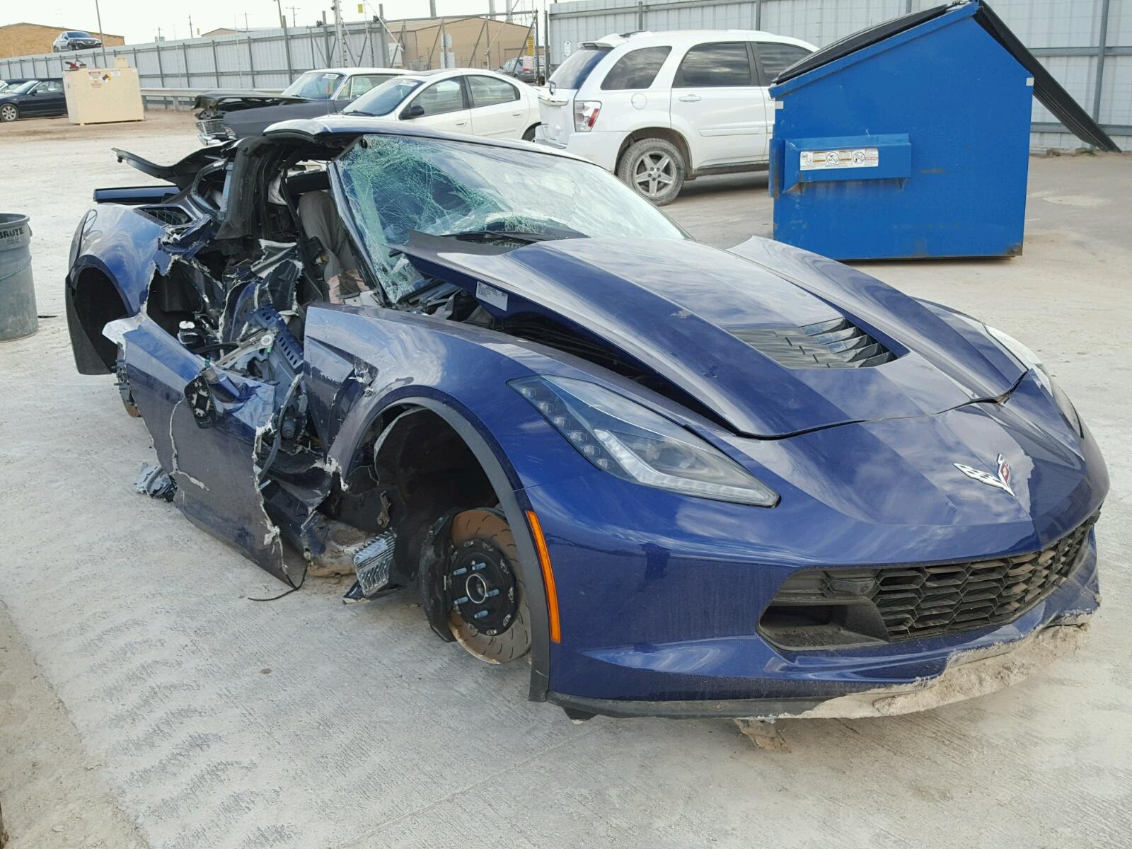 Salvaged CHEVROLET CORVETTE for Auction - AutoBidMaster
