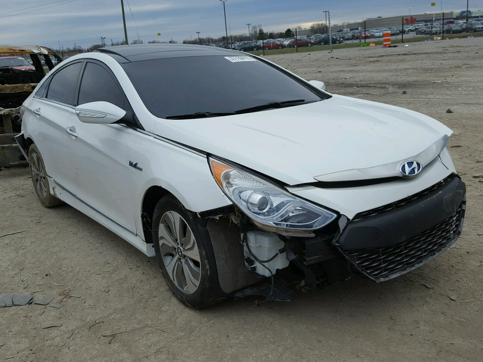 online silver auctions hyundai copart cert salvage lot carfinder in en title sale indianapolis sonata on of gls view auto left