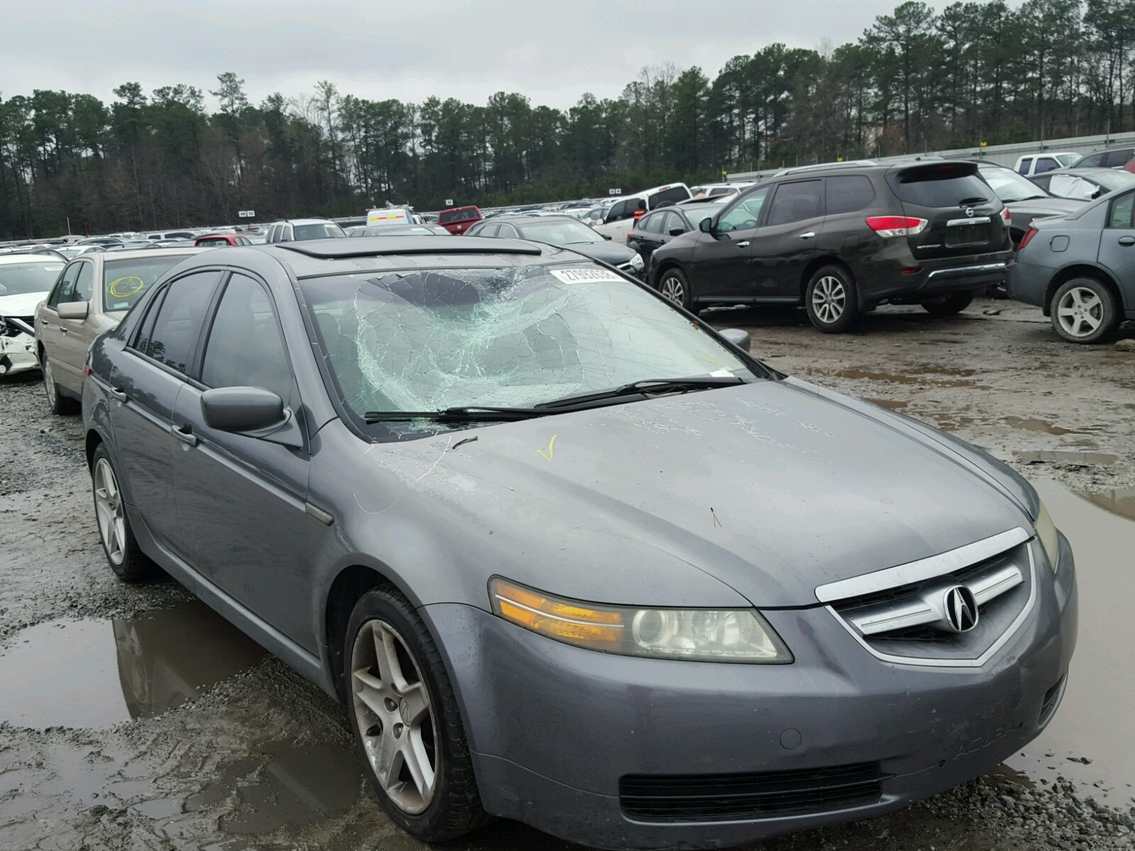 lot west title rebuildable carfinder fl auctions tl of auto in acura cert sale on copart online for view palm left beach slvg black en