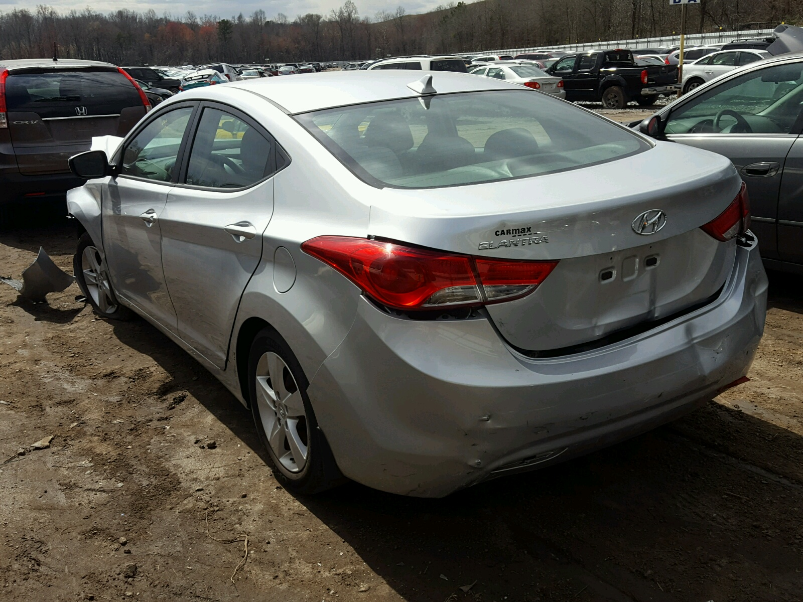 gls auctions red auto sale left carfinder online sc greer of hyundai accent en on in cert copart lot view salvage title