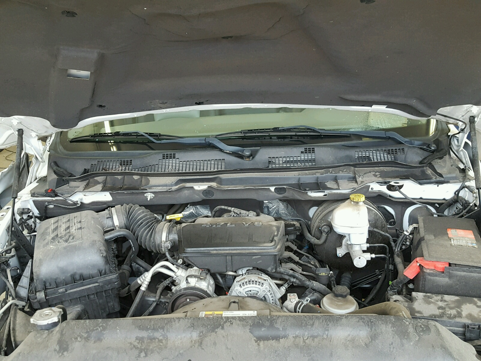 1c6rd7fp9cs252189 2012 White Dodge Ram 1500 S On Sale In Tn Engine 47l Inside View