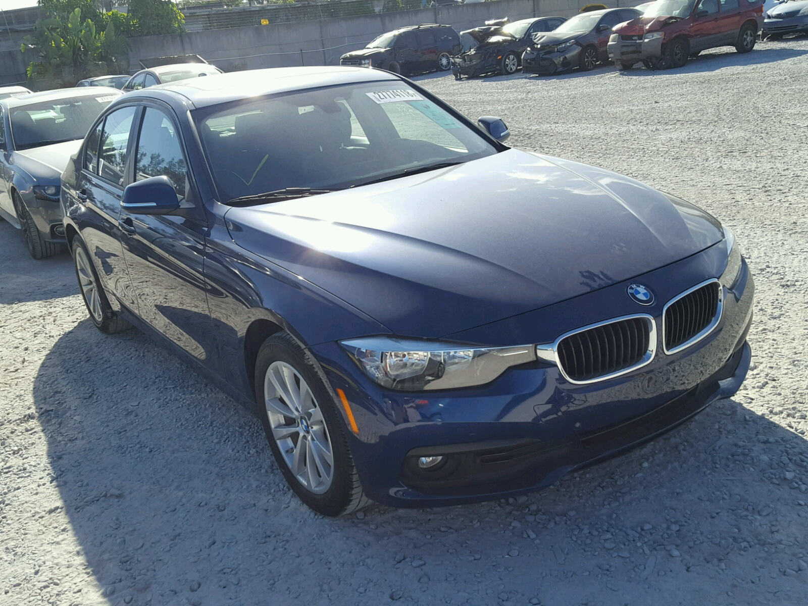 Auto Auction Ended On VIN WBA8E1G52HNU13660 2017 Bmw 320 I In FL