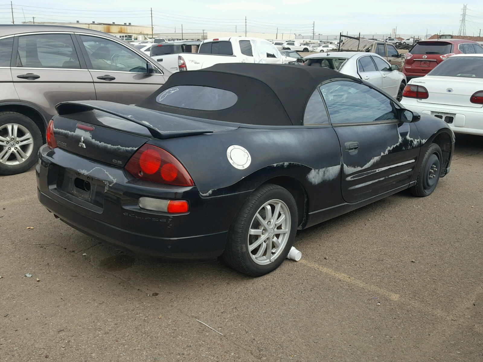 novem for item auction sale sold gs mitsubishi eclipse spyder image