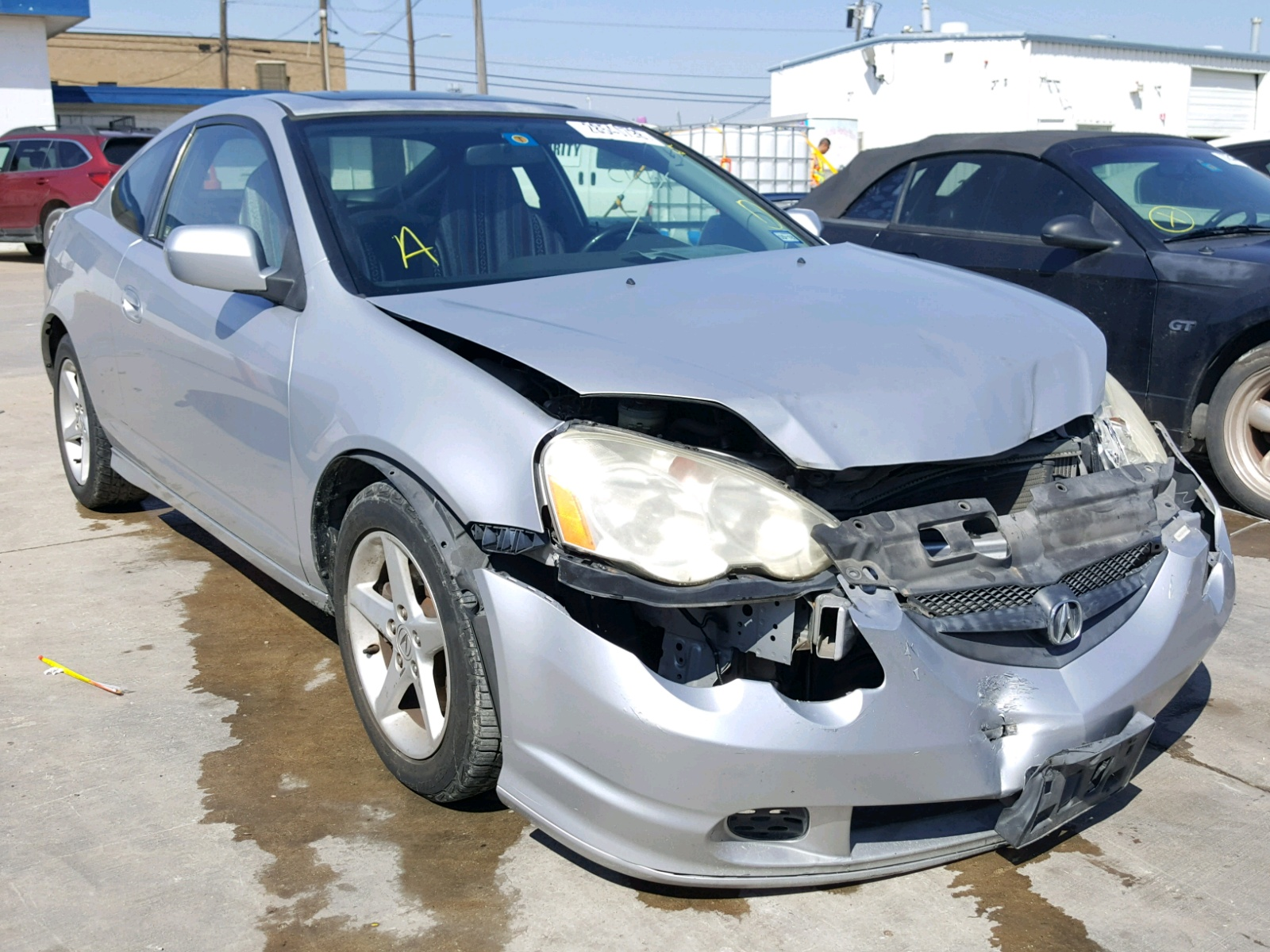 Auto Auction Ended on VIN: JH4DC53012C036815 2002 Acura Rsx Type-S in TX -  Dallas