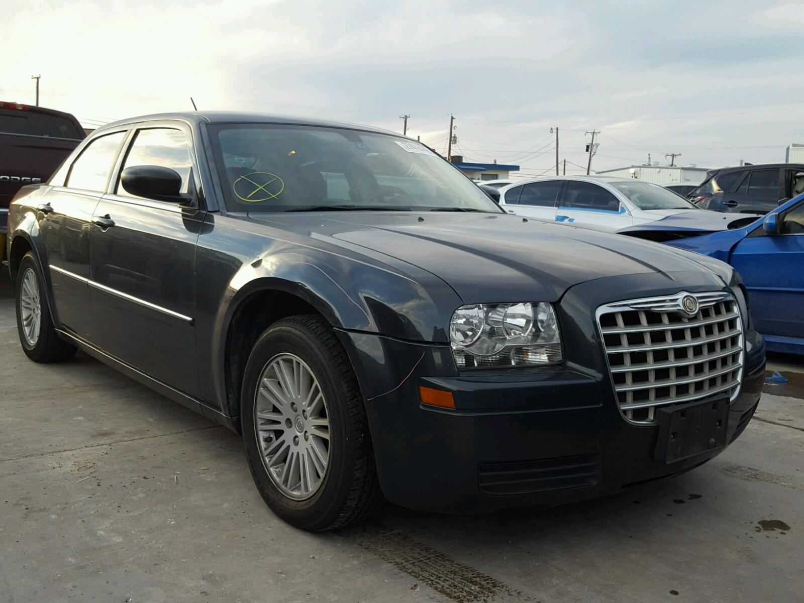 tx view en chrysler copart in lot title dallas online auctions auto sale black left salvage carfinder on vehicle