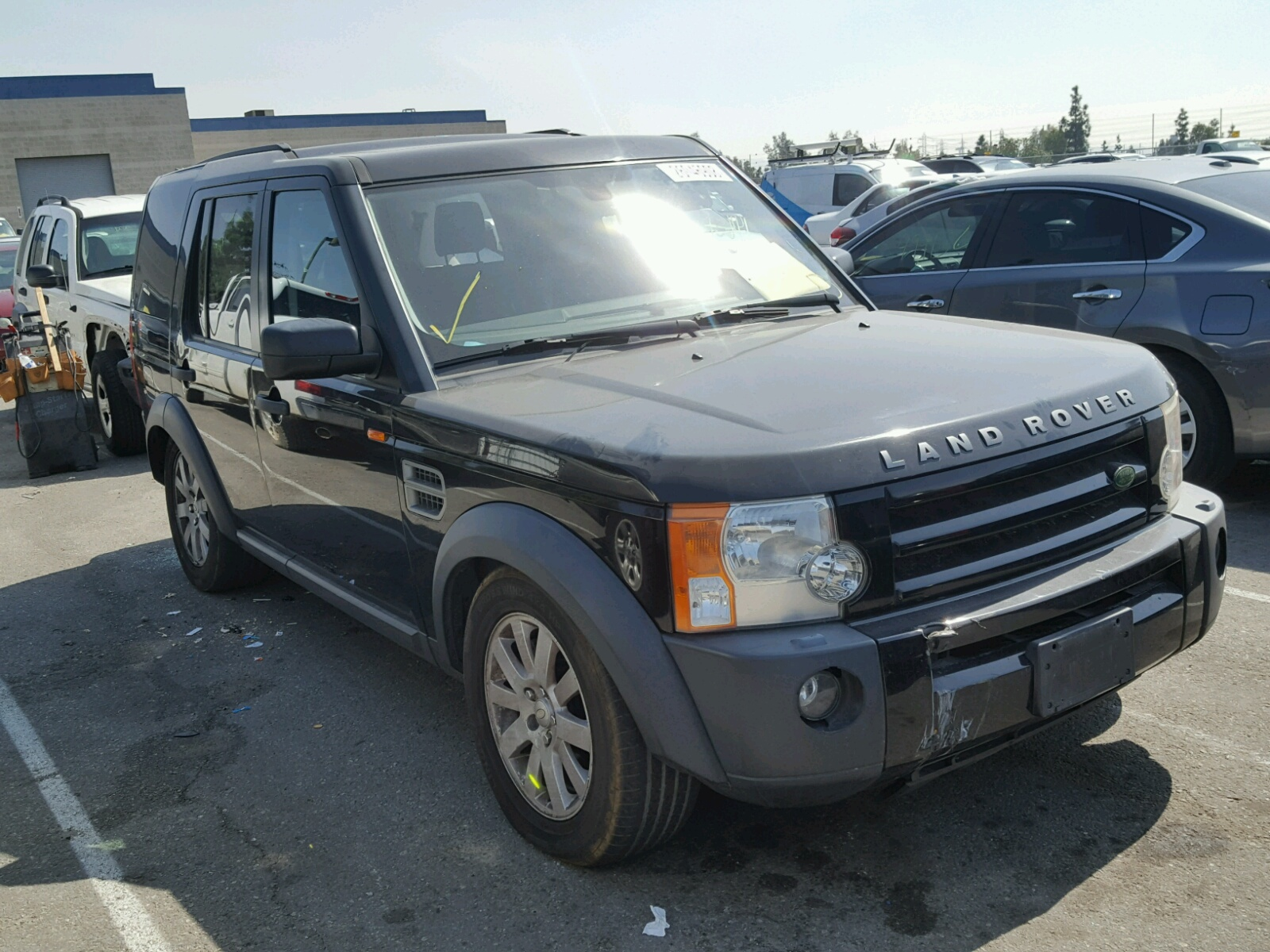 des for auto left black on landrover land en view sale cert ia salvage moines copart rover carfinder lot online title in of hse auctions