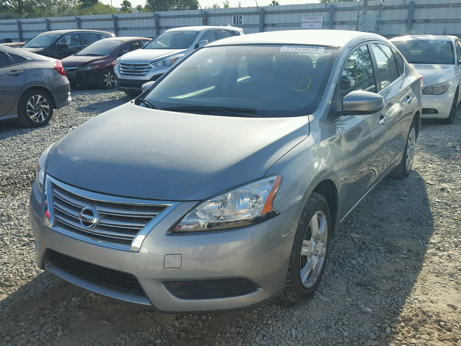 3N1AB7AP5EY269596 - 2014 NISSAN SENTRA S 1.8L Right View