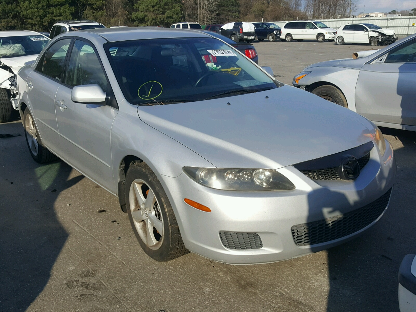 Salvage 2006 Mazda 6 S for sale